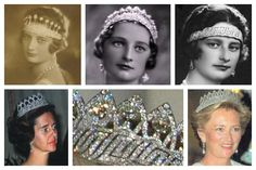 Nine Province Tiara : A wedding gift made by Van Bever a Belgian jeweller in 1926 and given to Queen Astrid on behalf of the Belgian people .