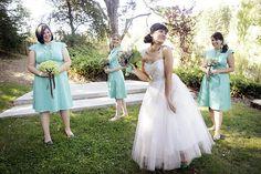 How to snag amazing vintage bridesmaid dresses...