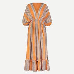 lemlem amira dress Liya Kebede, Lemlem, Cool Gifts For Women, Ethical Brands, Orange Dress, The Fresh, Cashmere Sweaters, Supermodels, Lounge Wear