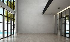 empty background modern wall interior brick lounge living adobe concrete dining walls sea fotolia salvo br