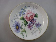 Vintage Crown Staffordshire Butter Pat or Coaster  by FeliceSereno, $10.00