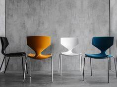 Chaise empilable QUO by Tonon design Martin Ballendat