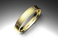 Alianza de oro amarillo de 18K modelo Estría Ref.: 750AMA35ESTRIAOro amarillo de 18Kmodelo Estría superficie brillo #bodas #alianzas #novia | cnavarro.com