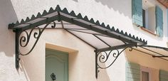 Esdra Cantilever Roof - Iron