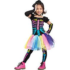 Infant/Toddler Funky Punky Bones Halloween Costume