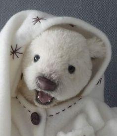 Tasha little polar bear baby by Britta Helberg