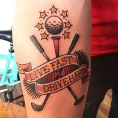 golf tattoo - Google Search