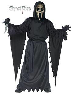 Scream-Zombie Scream Ghost Face Boy's Costume