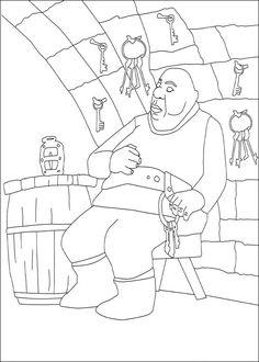 Dibujos para Colorear El valiente Despereaux 4