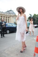 Paris Couture Week street style.
