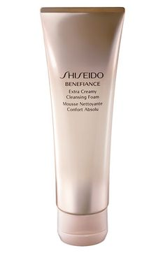 Shiseido BENEFIANCE Extra Creamy Cleansing Foam- I have been using this cleanser recently...I really like it!