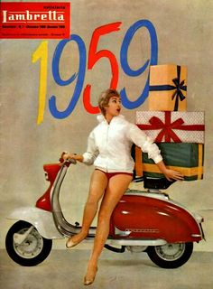 Vespa and different scooters Lambretta 1959 scooter lambretta jpdubs Scooter Girl, Retro Scooter, Vespa Girl, Lambretta Scooter, Vespa Scooters, Vespa Vintage, Pub Vintage, French Vintage, Retro Roller