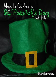 lots o fun for St. Patricks Day from PlayDrMom