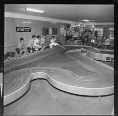 Racing at the local slot car track was such a wonderful experience in the 1960's.