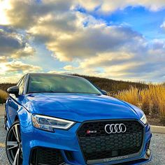 #tbt to #sunset cruises out in the — #audi #rs3sedan