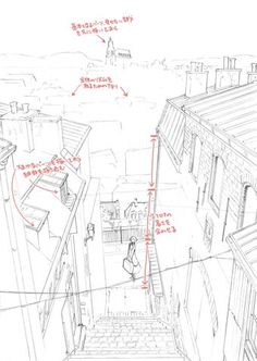 Perspective Drawing Lessons, Perspective Sketch, Drawing Reference Poses, Drawing Tips, Architecture Drawing Sketchbooks, Comic Tutorial, Manga Drawing Tutorials, Comic Layout, Background Drawing