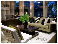 CEO Office Space - modern - home office - vancouver - by AccenTrix Design