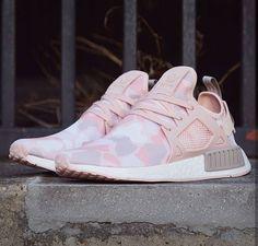 Nike Originals NMD in Pink Duck Camo - Adidas Sneaker ♥ Sneakerparadies - Shoes Nmd Sneakers, Sneakers Mode, Sneakers Fashion, Adidas Sneakers, Cool Adidas Shoes, Adidas Shoes Women, Sneaker Outfits, Adidas Nmd, Nike Roshe