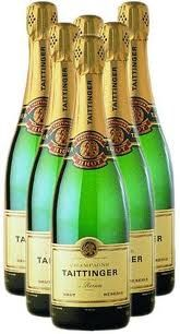 Champagne has to be French and it has to be from Epernay. I love love love Taittinger.