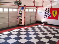 Elegant Garage Snap together Flooring