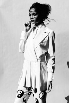 Tough Exotic Fashion - The Herald Sun Sunday Life May 2012 Editorial Stars a Badass Shanina Shaik (GALLERY)