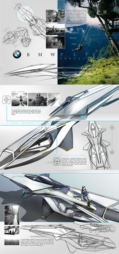 BMW Fly by Benjamin Perot