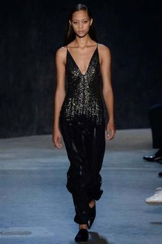 Black: Narciso Rodriguez ready-to-wear spring/summer '17 - Vogue Australia