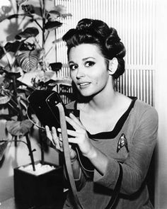 Photo of TOS Behind the Scenes for fans of Star Trek Women 11258195 Star Trek Tv Series, Film Star Trek, Star Trek 1966, Star Trek Original Series, Star Trek Tos, Leonard Nimoy, William Shatner, Marianna Hill, Marina Sirtis