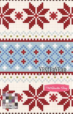 Yesteryear Quilt Pattern Carolina Patchworks #CP-073