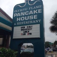 Olympic Flame Restaurant - Outside sign - Myrtle Beach, SC, United States