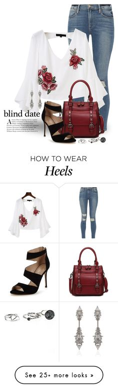 """""""Dress to Impress: Blind Date 3193"""" by boxthoughts on Polyvore featuring Frame, Carvela, Fernando Jorge and blinddate"""