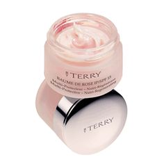 Best lip treatment / balm - Gives a pale rose sheen to the lips, and smells rosey too Baume de Rose Jar SPF 15 « By Terry Makeup « Mecca Cosmetica