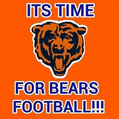 Tis the season! Chicago Football, Bears Football, Nfl Chicago Bears, Football Baby, Football Parties, Cincinnati Bengals, Indianapolis Colts, Chicago Bears Pictures, Bear Signs