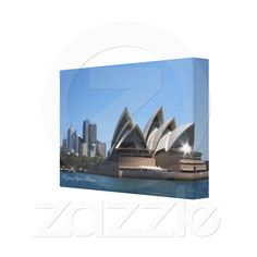 Decorate your walls with Sydney canvas prints from Zazzle! Choose from thousands of great wrapped canvas to beautify your home or office. Canvas Art Prints, Wrapped Canvas, Opera House, Bookends, Sydney, Decor Ideas, Gallery, Roof Rack, Opera