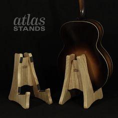 Atlas Stands Guitar Stand - Paulownia  www.atlas-stands.com
