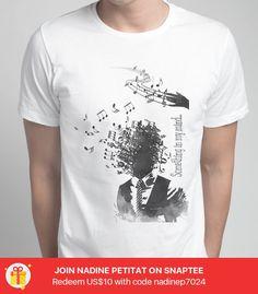music -- Gestalte dein eigenes #Snaptee #tshirt
