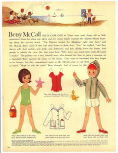 cute betsy mccall paperdoll from the 60's  (there are tons on this site ranging from 50's-90's