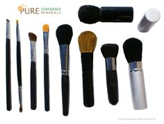Pure Confidence Minerals - 9pc Mineral Makeup Brush Set, $48.99 (http://www.pureconfidenceminerals.com/9pc-mineral-makeup-brush-set/)