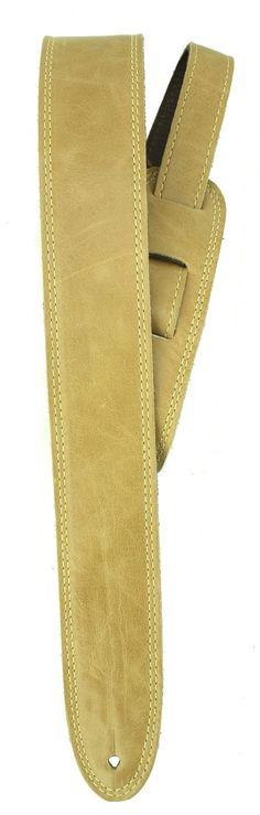3b5d1b2cf5 Element Leathers - Sand - Premium Leather Guitar Strap Leather Guitar Straps,  Guitar Amp,