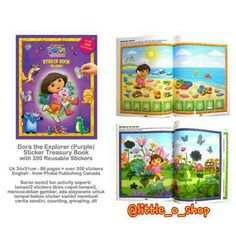Saya menjual Sticker Book Treasury Dora The Explorer seharga Rp140.000. Dapatkan produk ini hanya di Shopee! http://shopee.co.id/littleoshop/1493765 #ShopeeID