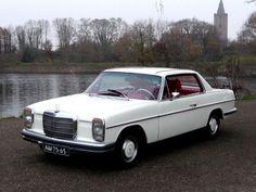 mercedes w114 | Mercedes-Benz (W114) 250 CE AUT 1971 Sneeuwwit