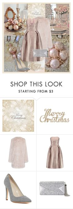 """Merry Christmas 20016"" by nadine-b-martin ❤ liked on Polyvore featuring Kaiser, Mary Katrantzou, Calvin Klein and BCBGMAXAZRIA"