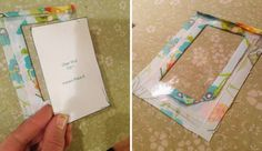 Delicious Reads: How to make a fabric luggage tag Scrap Fabric Projects, Sewing Projects, Sewing Ideas, Sewing Tips, Fabric Crafts, Luggage Tag Template, Fun Crafts For Teens, Diy Wallet, Id Badge Holders
