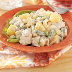 Hawaiian Chicken Salad Recipe