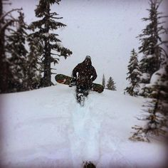 Let's find some snow! @rosstdunlop leading the charge. #snowboarding #bootpacking