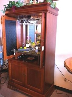 bureau redo armoire bar armoire commode bar meubles recycles meubles diy