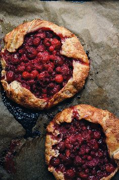 red fruit galettes by yossy arefi