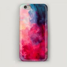 Colorful Smoke iPhone 6 Plus Case Abstract iPhone 6 por MascotCase