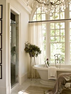 Gorgeous bath ~ McAlpine Booth & Ferrier Interiors Atlanta Showcase House » McAlpine Booth & Ferrier Interiors ~ bathroom ideas and decor