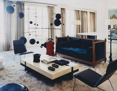 very stylish!  appartment of Herve van der Straeten. paris